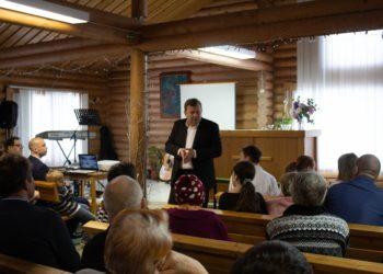 Крещение в Калевала и благословение на пасторское служение